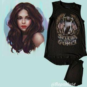 Sleeveless Selena Gomez Women T-Shirt M